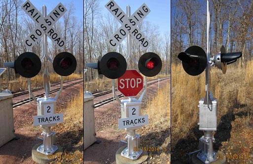 Miniature Crossing Signals - Mike's Railroad Crossing Forum